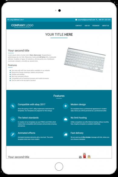 Listing premium templates Archives - Ebay templates listing shop ...