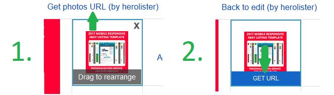 add photo  herolister ebay pro listing builder